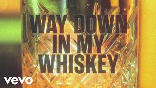 Alan Jackson - Way Down In My Whiskey (Lyric Video)