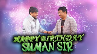 Birthday Wishes to SumanTV Chairman and Managing Director Mr. D Suman Garu from SumanTV  Family😍♥️