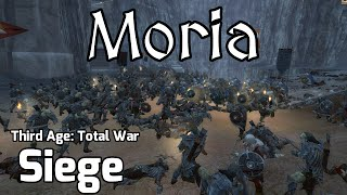 Third Age Total War Online Battle #4 - (2v1 Siege) - Siege of Moria