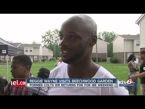 Reggie Wayne in town for IBE weekend