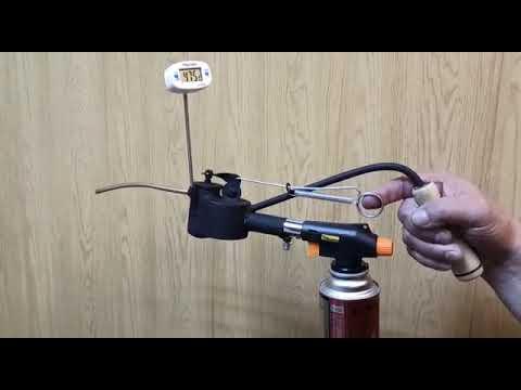 Принцип работы сублиматора щавелевой кислоты газового