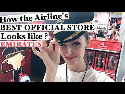 VLOG 118: HOW THE AIRLINE'S BEST OFFICIAL STORE LOOKS LIKE? EMIRATES
