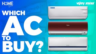 AC Buying Guide 2019 | Factors Before Buying An Air Conditioner | Home Guru | #vijaysales