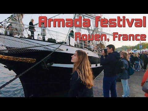 Visiting Rouen, France For Armada 2019 - Normandy Travel Vlog