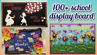 100+ School notice board decoration ideas    amazing display board ideas for school