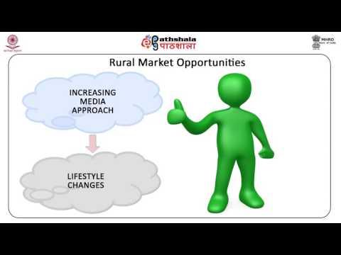 Rural Marketing (BSE)