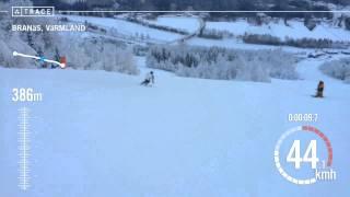 Trace: Skiing - Pär  Ekström  at Branäs