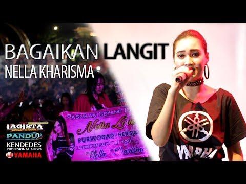 Bagaikan Langit - Nella Kharisma - Lagista live Alun Alun Sragen 2019