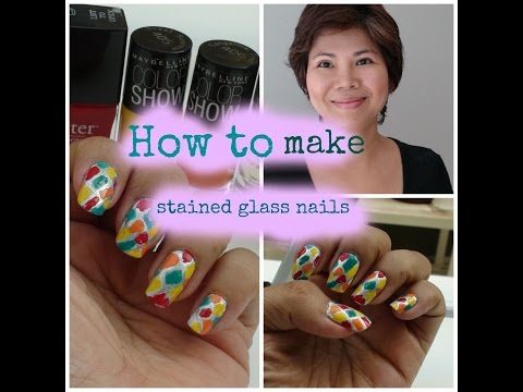 How To Make Stained-glass Nails