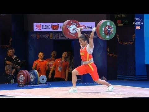 2019 World Weightlifting Championships. Women 64kg \ Чемпионат мира женщины до 64кг