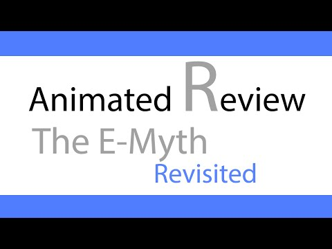 Animated Summary | The E-Myth revisited
