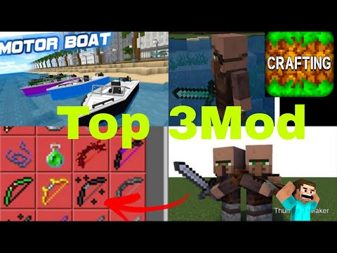 New Top 3 Most Popular Mod for Crafting and building😎 OP 👍