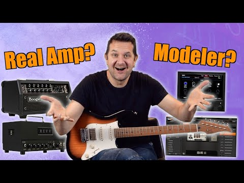 Real Amp or Modeler - Can You Spot The Difference?