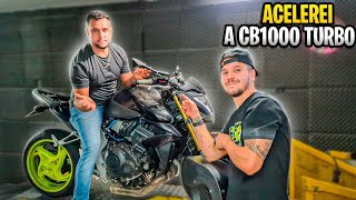 ACELEREI A CB1000 TURBO DO DIEGO FAUSTINO