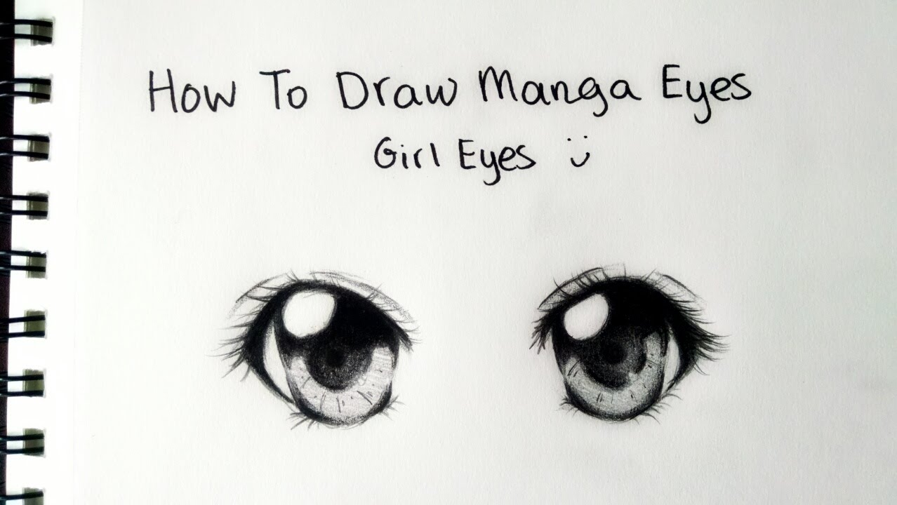 How to Draw - Manga Girl Eyes