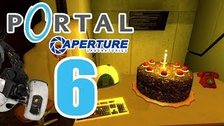 Let's Play Portal Part 6: Finale gegen GLaDOS (The cake isn't a lie!) ENDE