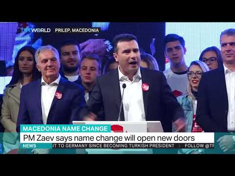 Macedonia's name change to 'open doors'