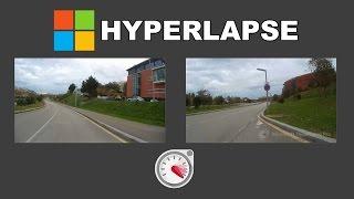 Hyperlapse vídeos con tu cámara de acción y Microsoft