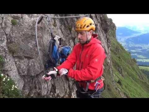 Klettersteig Set Gurt : ᐅ klettersteigset anlegen aber bitte richtig