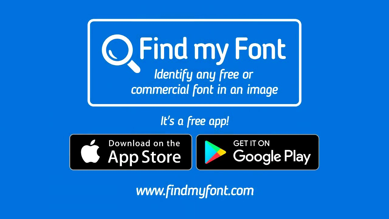 Find my Font app: Identify fonts from image / Find closest Google font