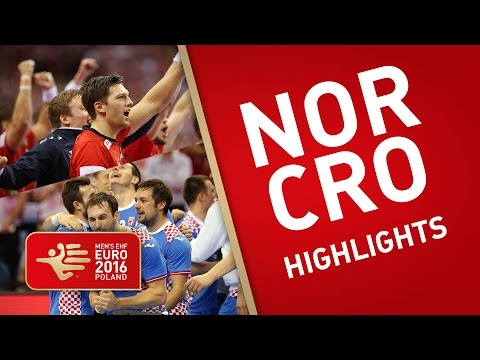 Bronze medal game highlights: Croatia vs Norway   EHF EURO 2016