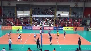 Brasil vs Italia. Mundial de voley femenino sub 18. Lima 2015