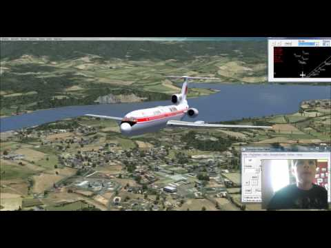 FSX: Pyongyang to Beijing with an Air Koryo Tu-154
