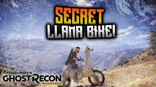 Ghost Recon Wildlands Llama Bike
