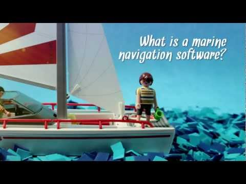 What is marine navigation software?