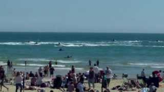 Jet Skiing in Bournemouth (Sun, 5 May 2013) . PT1