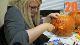 TURNING 29 YEARS YOUNG [PUMPKIN FUN]  - October 9th, 2016 - usaaffamily vlog