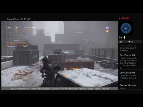 Farming Classified & Exotics for Subscribers/Friends (Tom Clancy's The Division)