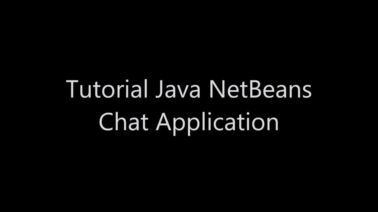 Tutorial java netbeans chatting application youtube tutorial java netbeans chatting application baditri Choice Image