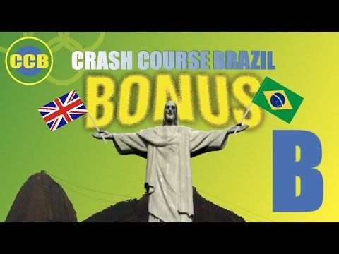 BONUS: English words you can use in Brazil; letter B