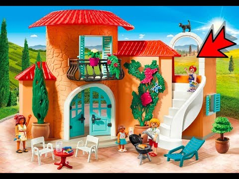 Playmobil 2019 maison de vacances playmobil family fun for Maison moderne playmobil 2018