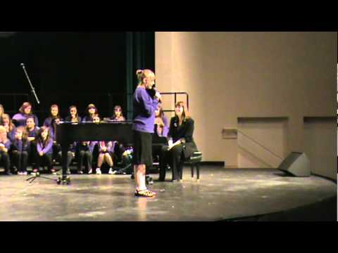 """Kylie from Walt Morey Middle School sings Taylor Swift's """"Silent Night"""""""
