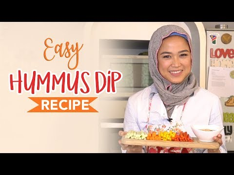 Simple Crudites Platter & Easy Hummus Dip Recipe | LISA NAMURI (Bahasa Indonesia)