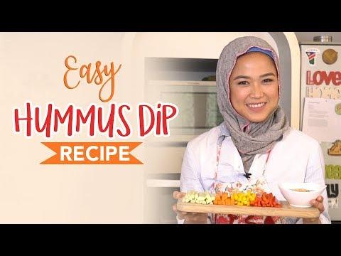 Simple Crudites Platter & Easy Hummus Dip Recipe   LISA NAMURI (Bahasa Indonesia)