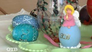 Готовимся к Пасхе: красим яйца