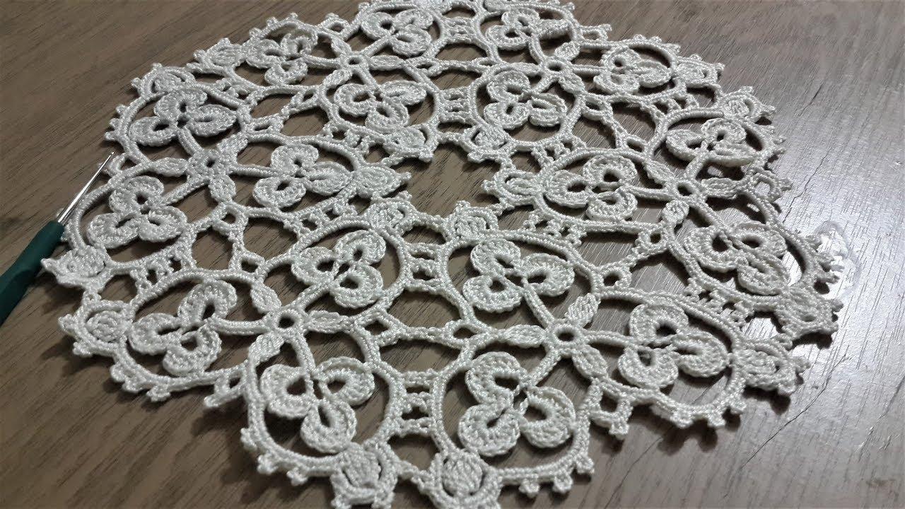 Ceyizlik Tig Isi Yatak Odasi Icin Dantel Modeli Crochet