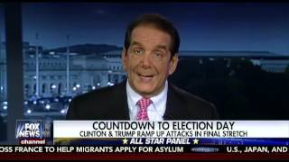 Krauthammer Says Trump Is Holding His Own In The Polls Despite Recent Issues