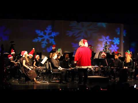 Toisnot Middle School-2017 Winter Concert-6th Grade Band (9/9)