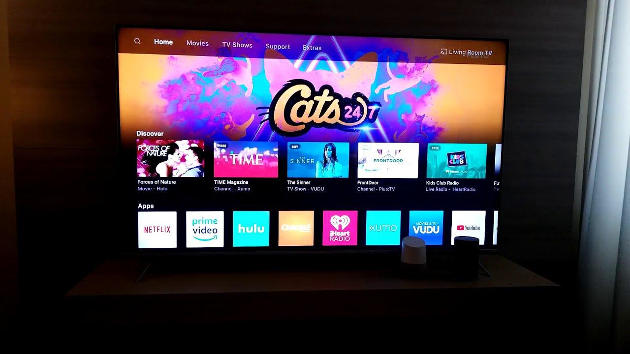 Vizio 2018 Smartcast Smart Tv Features Demo  Avs Forum 09:48 HD