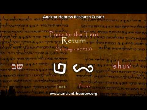 Sabbath in Ancient Hebrew