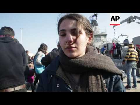 500 migrants arrive in Lesbos