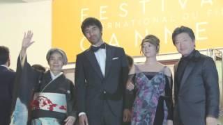 第69回カンヌ国際映画祭「海よりもまだ深く」レッドカーペット
