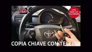 Copia chiave Toyota iq -  Chiave  e telecomando