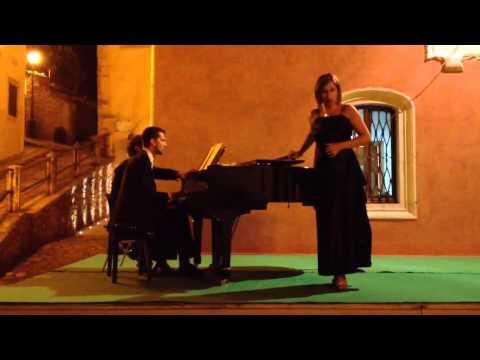 Silvia Pantani canta l'aria di Micaela - Carmen di Bizet