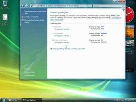 Windows Vista - Improve your PC's Power Management