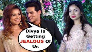 Priyank Sharma Makes Ex GF Divya Agarwal JEALOUS At Prince Yuvika Marriage
